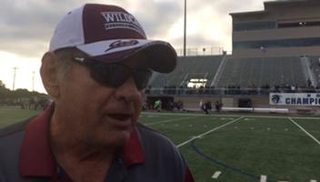 Calallen coach Phil Danaher talks about how the Wildcats' defense adjusted in Friday's win over Boerne Champion.