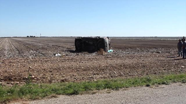 Two women were taken to the hospital after a one-vehicle rollover crash about 15 minutes east of San Angelo.