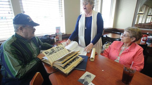 Two strangers meet after a Pearl Harbor story letter reveals they knew the same soldier.