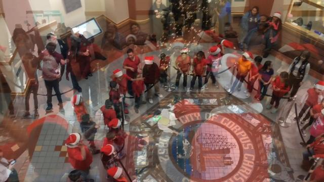 Kostoryz Elementary Choir sings Christmas classics at City Hall