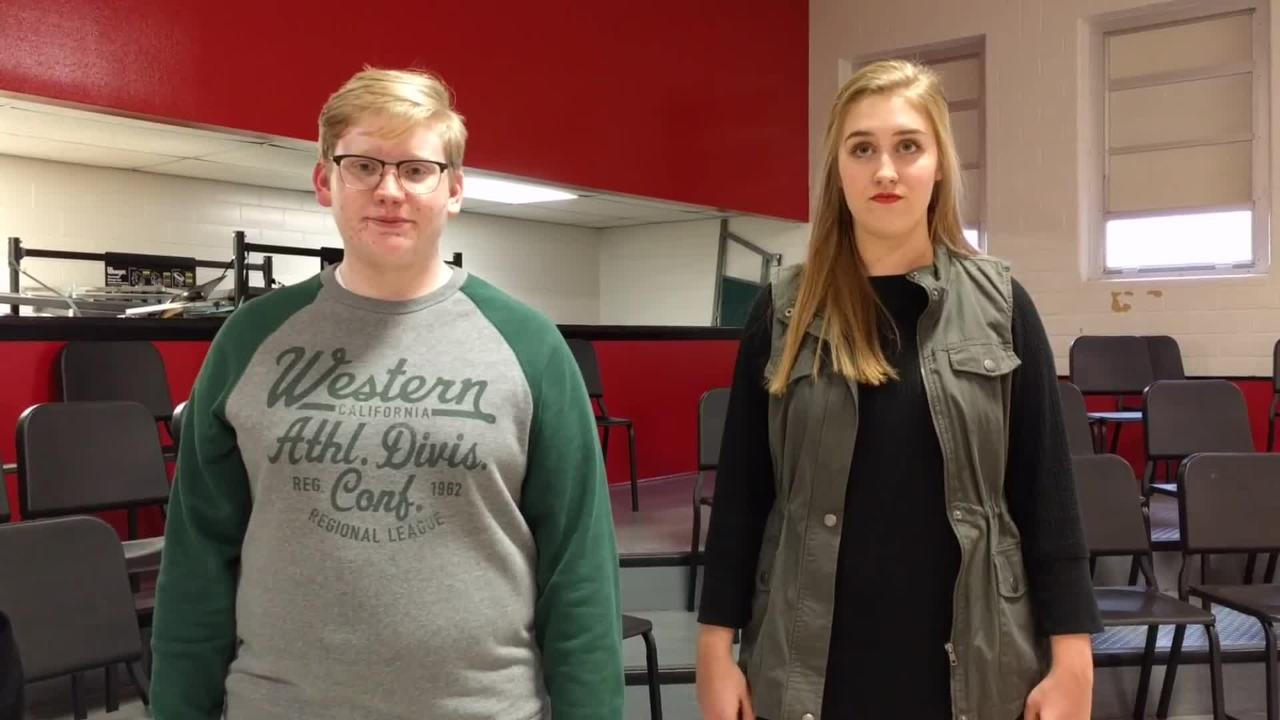 """WFISD's Austin Taack and Mary-Grace Scales sing """"Kyrie from Haydn's 'Lord Nelson Mass'"""""""