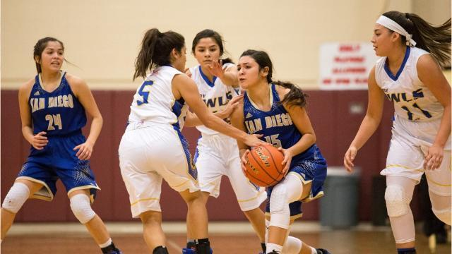 Odem vs. San Diego, Girls regional quarterfinals