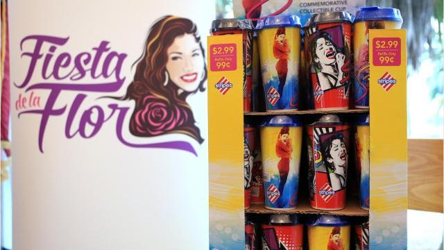 Stripes Stores unveil cups to honor Selena