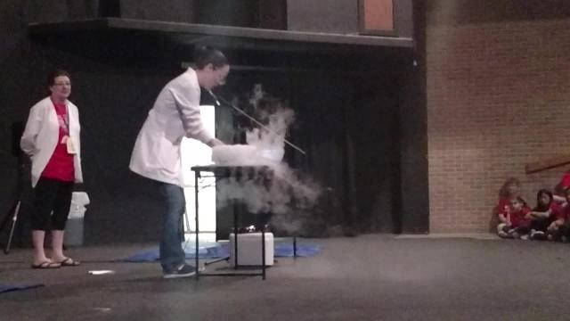 Million-word Readers Science Experiments Dry Ice
