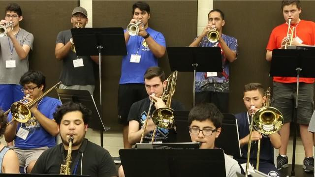 Kingsville band camp offers students multiple opportunities