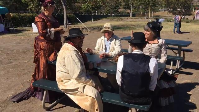 The Wild West gala was staged in Simi Valley Civic Center Park Oct. 22 & 23.