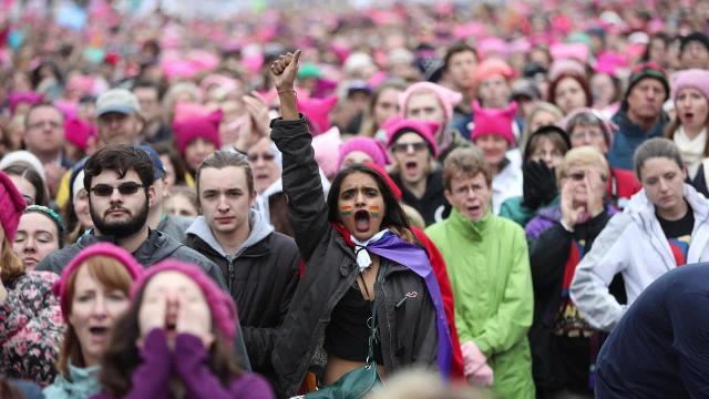 Video: Women's March