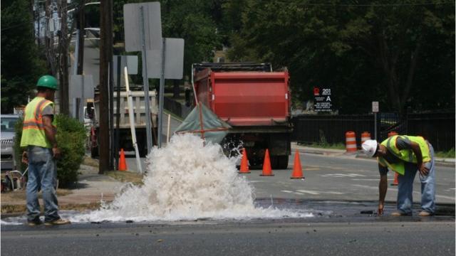 Video: Leaky N.J. water pipes need major repairs