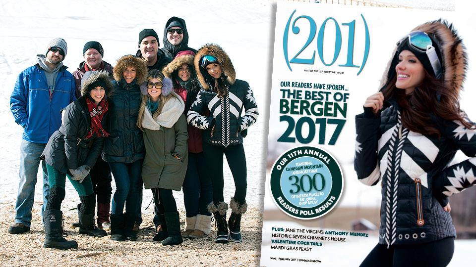 Behind the Scenes at (201) Magazine's 2017 Best of Bergen cover shoot