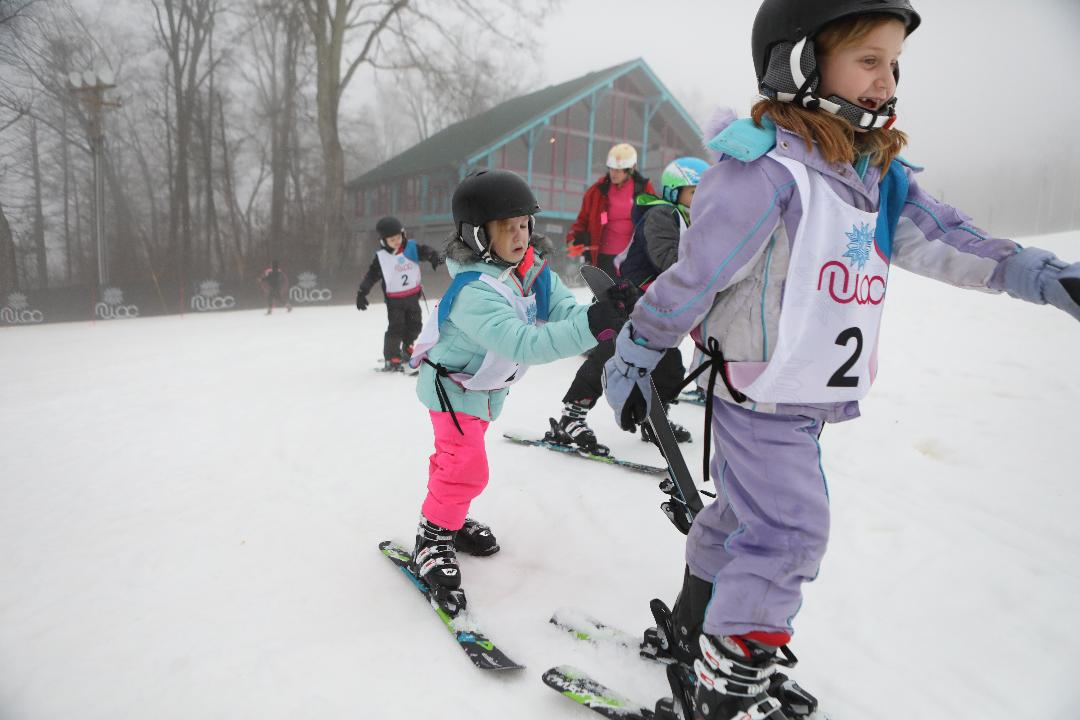Youngsters throughout northern NJ come to the National Winter Activity Center in Vernon.   The non-profit is set up to give kids the opportunity to take part in winter sports.