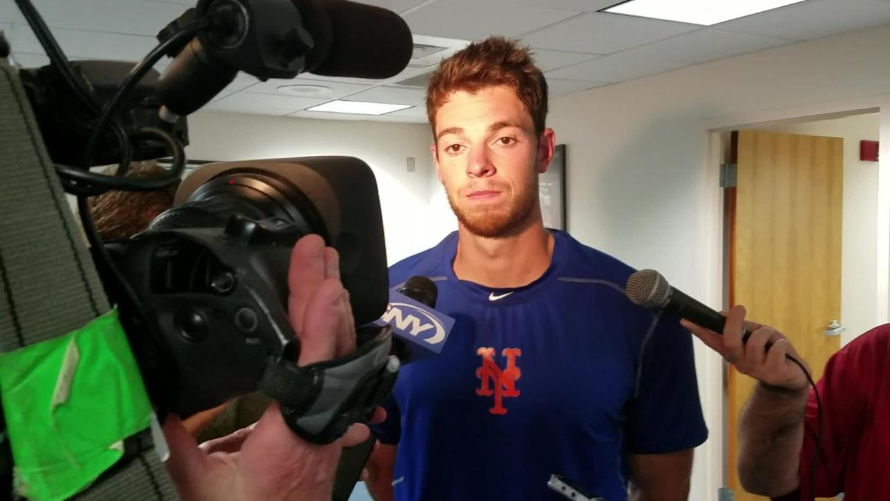 Steven Matz talks about his Grapefruit League outing Wednesday against the Marlins