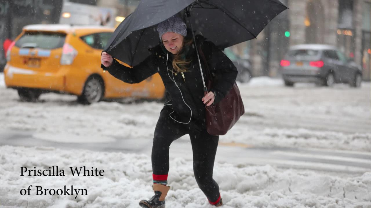Video: New York City Winter Weather