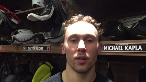 VIDEO: Michael Kapla on signing with the Devils