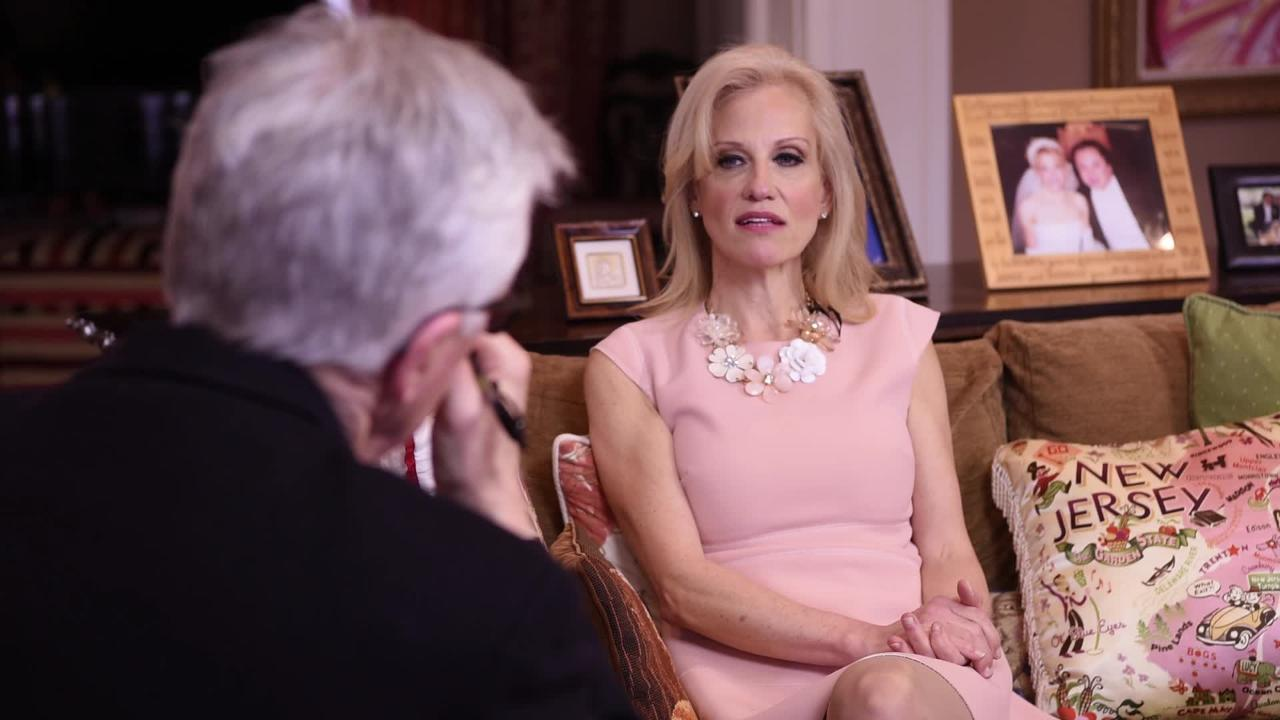 President Donald Trump's Senior Counselor Kellyanne Conway talks about selfies and Google with Record columnist Mike Kelly.