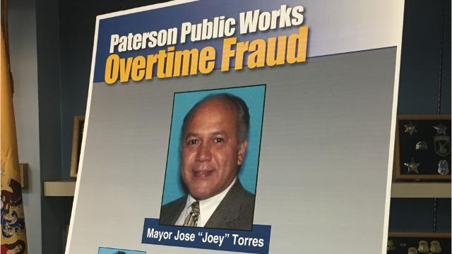 Paterson mayor, DPW supervisors face corruption charges