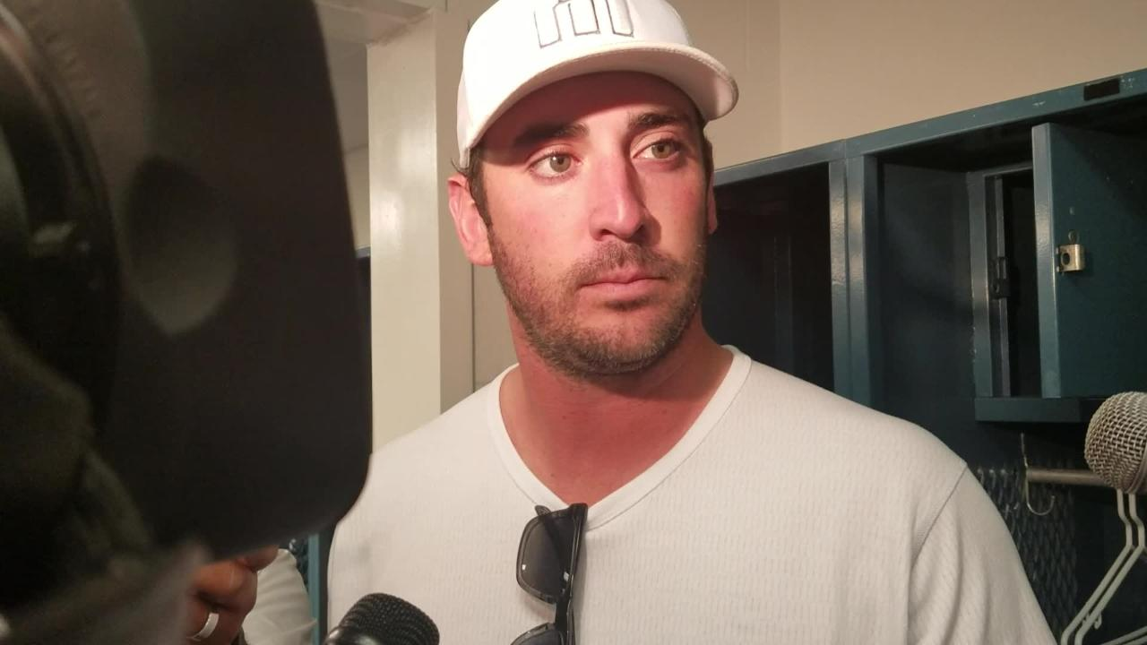 Matt Harvey discusses his fourth Grapefruit League start.