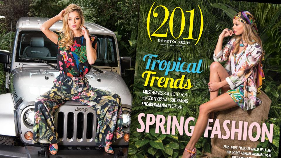 (201) Magazine held their March Spring Fashion shoot at Raimondi Horticultural Group in Ho-Ho-Kus on January 26, 2017. Check out this behind the scenes video to see what goes into a (201) Magazine fashion shoot.