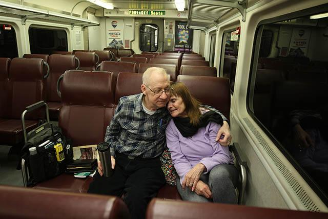 Video: A train romance