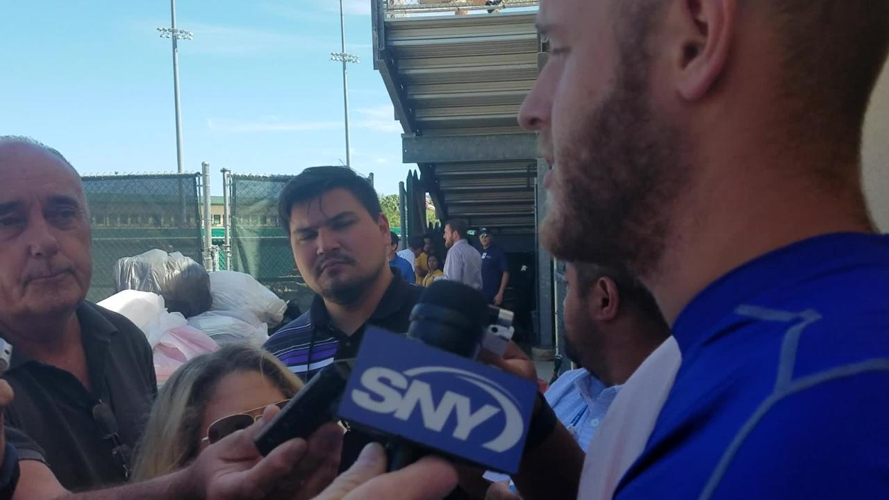 Zack Wheeler discusses his start against Miami