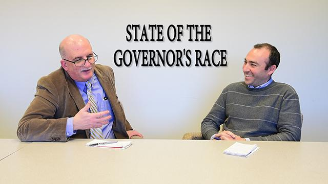 Charles Stile and Dustin Racioppi of The Record discuss the NJ Governor's Race.