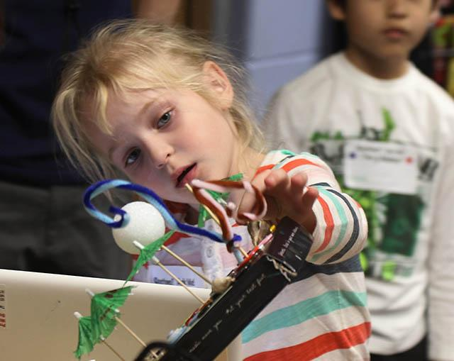 The Mountain Lakes School celebrates it's first Makers Club Fair.