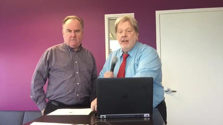 Record reporter John Brennan helps fellow reporter John Ensslin fill out his NCAA basketball tournament bracket using game theory.