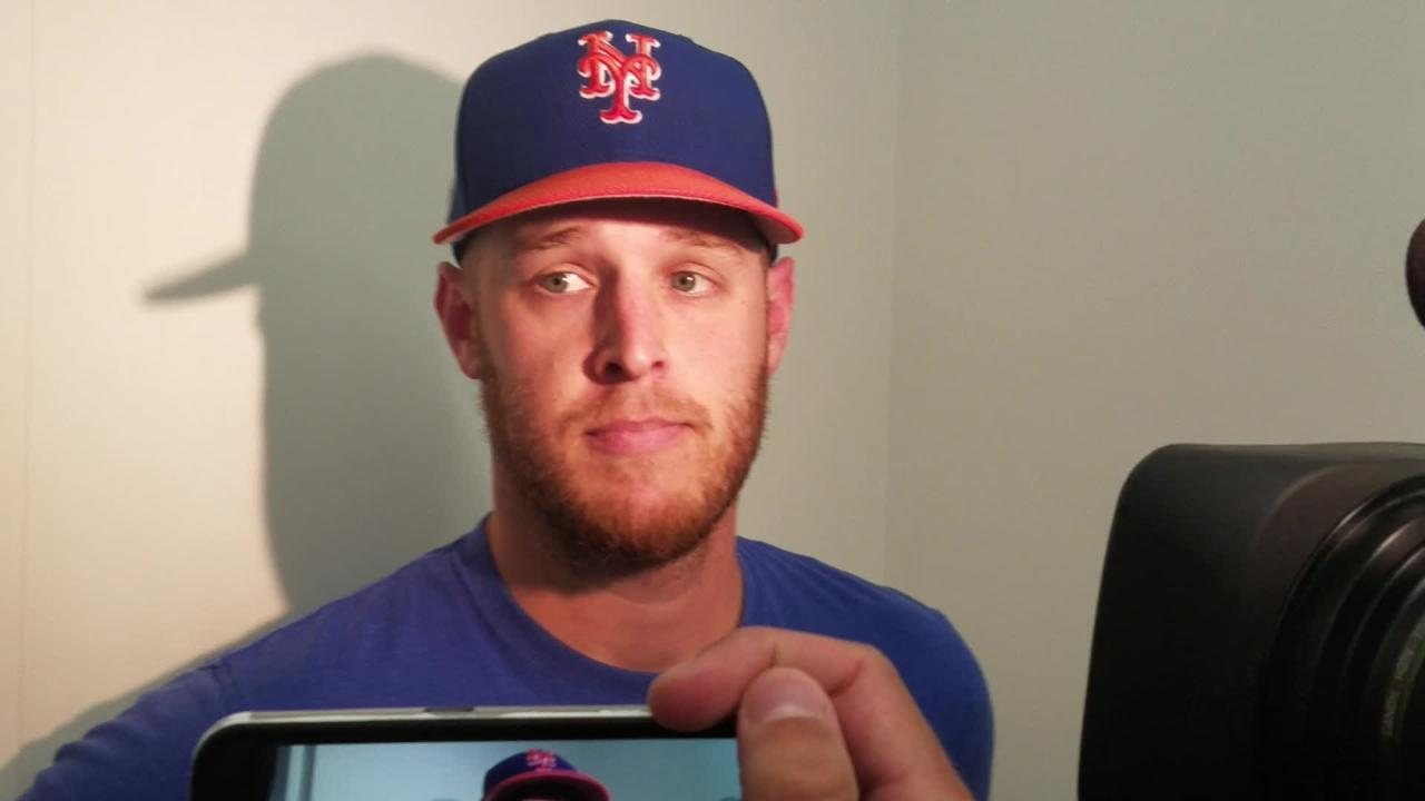 Mets pitcher Zack Wheeler discusses his second start.