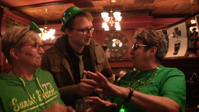 Andrew Wyrich stops by The Shannon Rose in Clifton to check out the St. Patrick's Day scene.