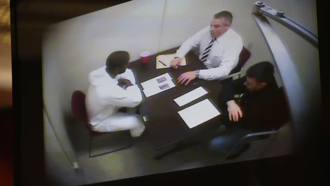 Video: Short Hills murder suspect police interrogation