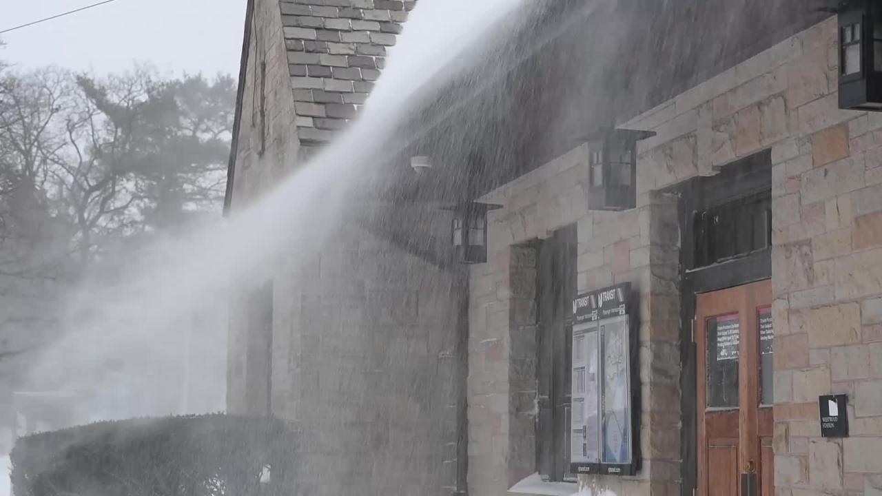 Video: Snow-covered Scenes from Westwood