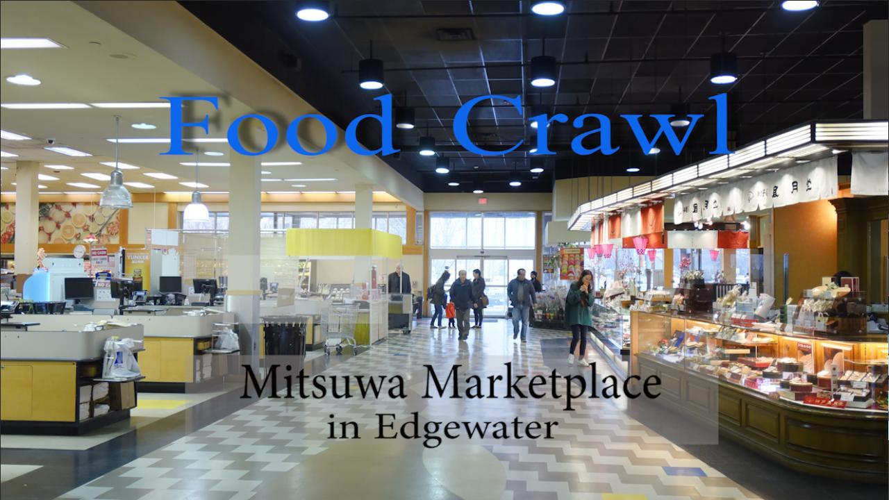 Chef Chris Arturo of Ani Ramen House in Montclair shows Record reporter Sophia Gottfried around Mitsuwa Marketplace in Edgewater.