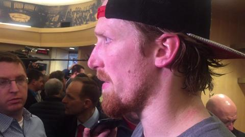 Defenseman discusses what's next after Rangers eliminate Canadiens with 3-1 win.