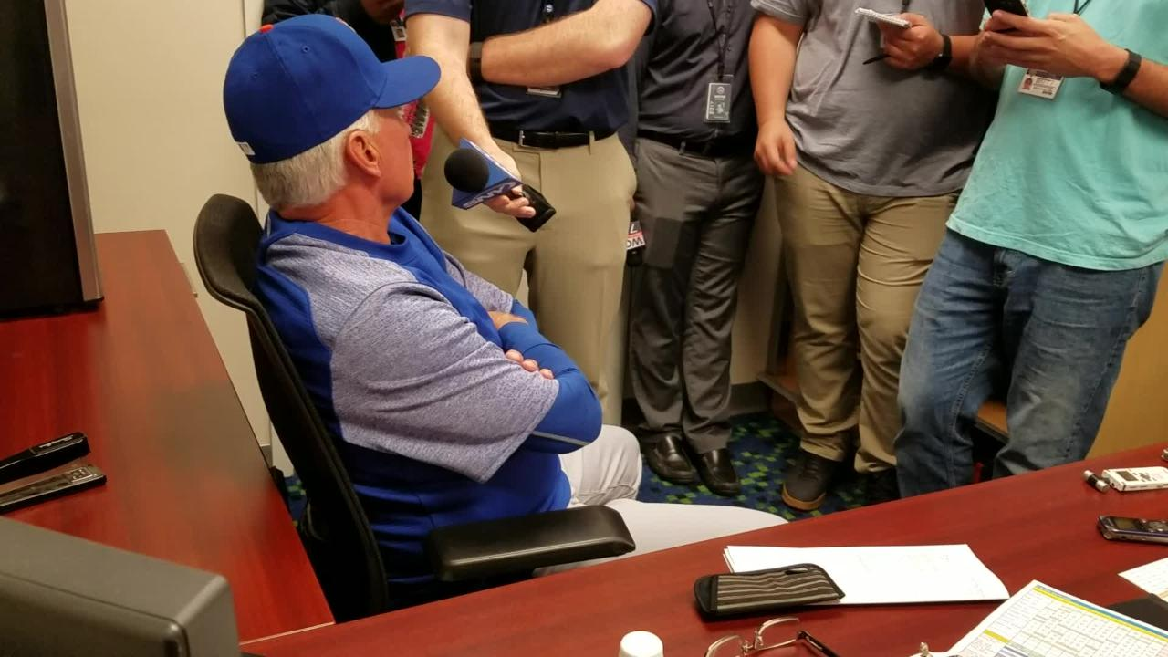 Video: Collins on bunting