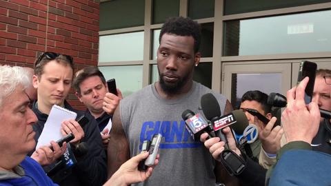 Giants defensive end Jason Pierre-Paul talked about establishing chemistry on defense again and returning to the postseason.
