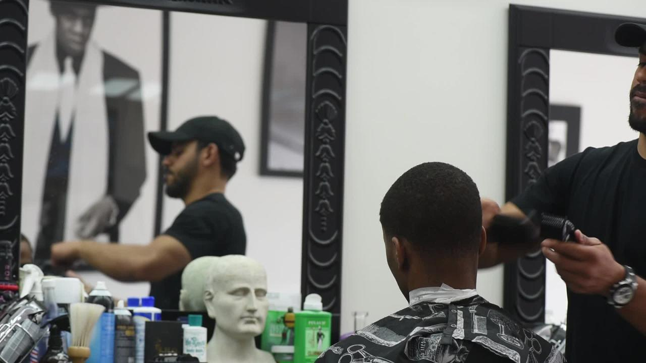 Johnny Cake is the Kobe Bryant of barbers. He started cutting Jay-Z's hair when he was 18 years old, in 1997, and still flies every week to cut the superstar's hair anywhere in the world.