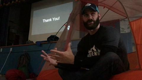 Jason and Ryan Benz describe plans for their nonprofit Adventure Heroes.