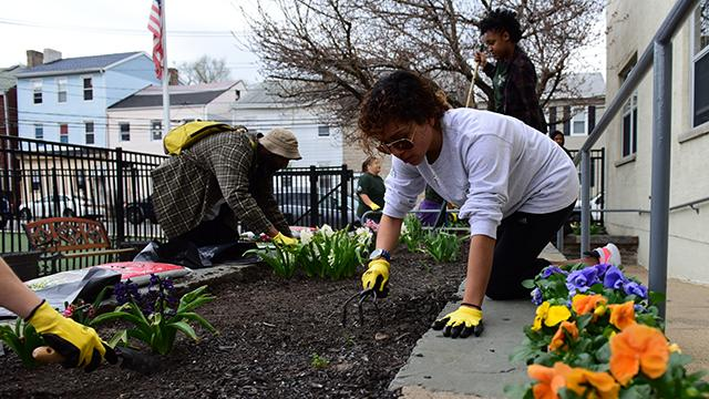 Volunteers, AmeriCorps members and Community Charter