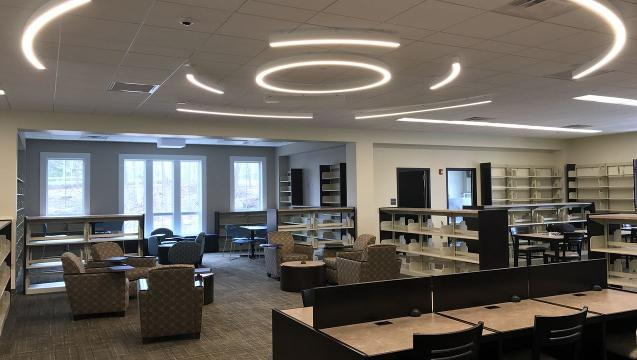 A walk-through of the West Milford library and community center.