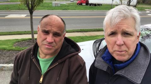 Columnist Mike Kelly and videographer Chris Pedota – #TeamRecord – will spend five days on the road to capture the mood of America in a four-state trek that begins Thursday, April 20.
