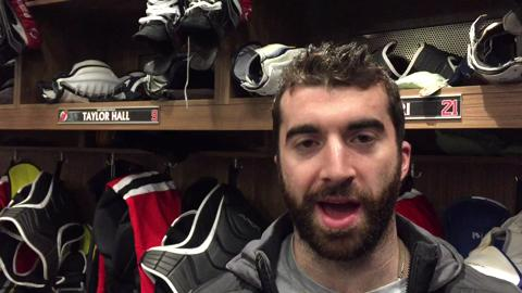 Video: Devils' Kyle Palmieri on team outlook