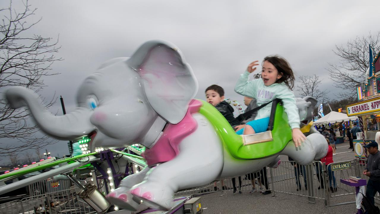 Teaneck VFW hosts a spring carnival at Overpeck Park in Leonia