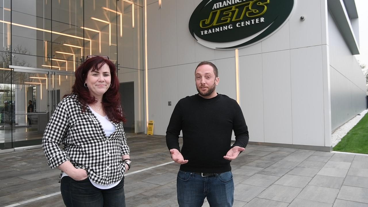 Northjersey.com's Tara Sullivan and Andy Vasquez talk of possible picks for the Jets from the Atlantic Health Training Center in Florham Park, NJ ahead of the 2017 NFL Draft in Philadelphia this Thursday.