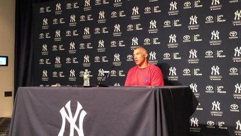 Joe Girardi discusses the Yankees' strong play last week.