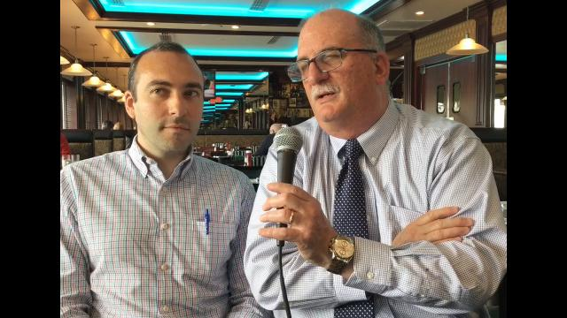 The Record's state house reporter Dustin Racioppi and political columnist Charles Stile discuss the latest developments in the New Jersey gubernatorial race. Video taped at The Rep Diner in Woodbridge on April 27, 2017.