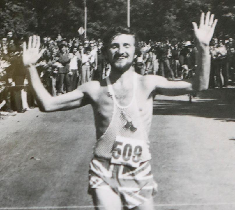 Former elite marathoner and current proprietor of Fitzgerald's 1928 in Glen Ridge, Paul Brewster talks about Tom Fleming on Thursday, April 20, 2017. Brewster knew Fleming for more than 30 years.