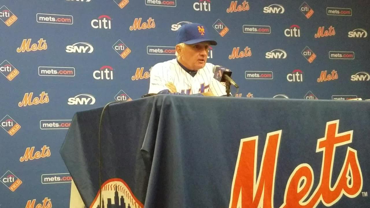 Terry Collins discusses the Mets' 1-9 stretch.