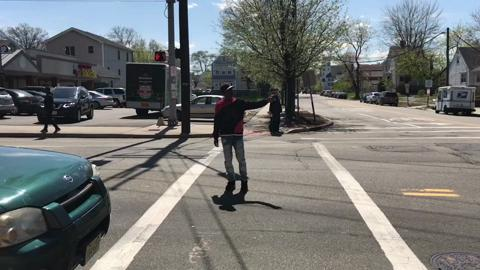 Passaic, Hackensack and Paterson crosswalks where walkers frequently court danger.