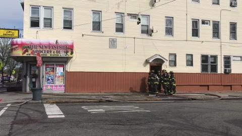 A fire broke out in an apartment building on 10th Avenue in Paterson around 3:30 p.m. Monday afternoon. This fire is the fourth in four days and comes after a devestating fire on Friday.