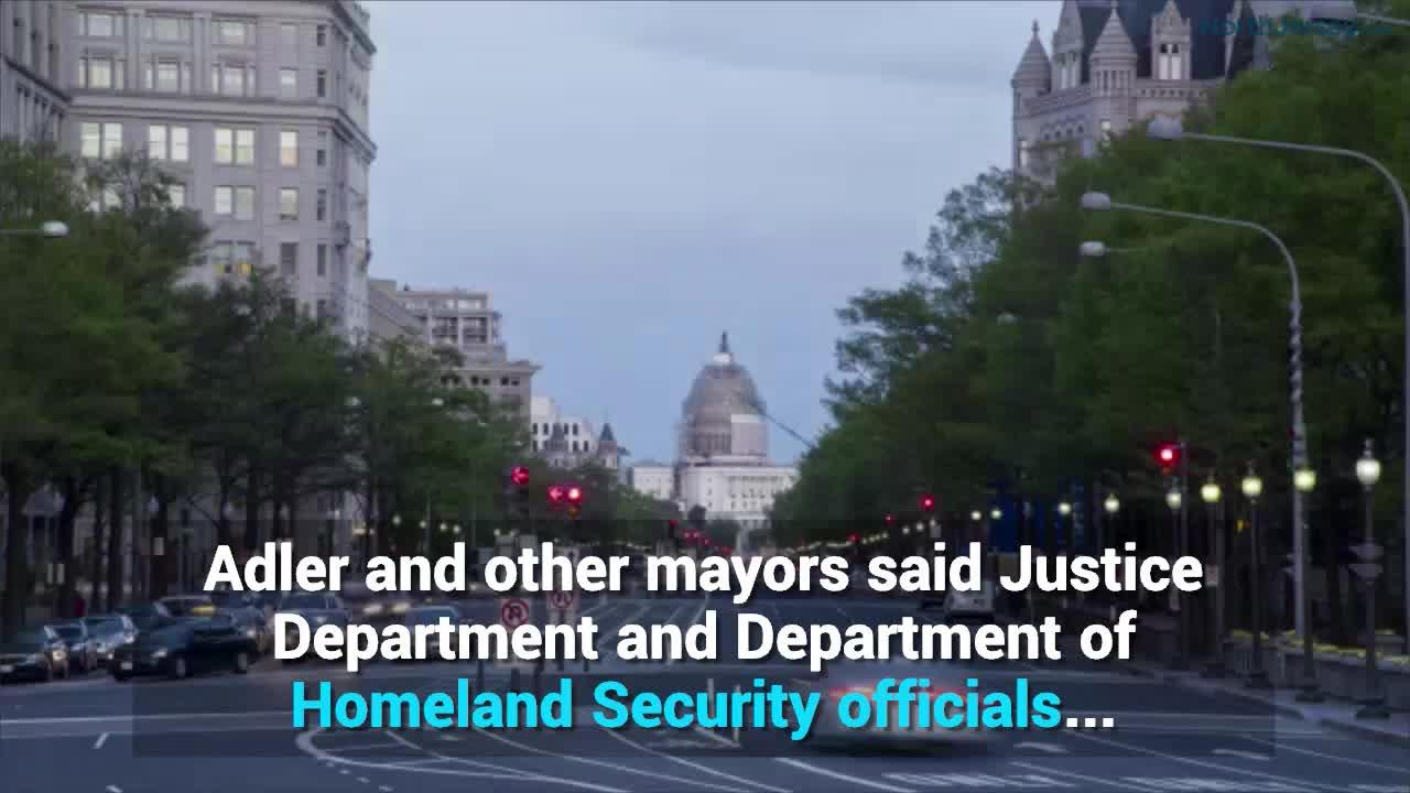 Mayors meet with Justice Department over sanctuary city status
