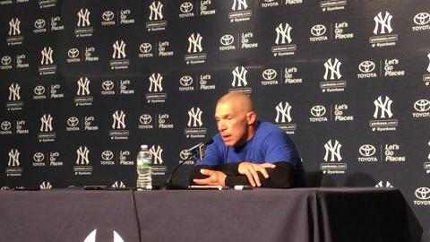 Video: Girardi on Romine's status and Judge's honors